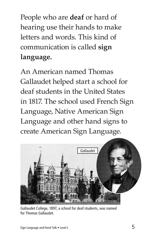 Book Preview For Sign Language and Hand Talk Page 5