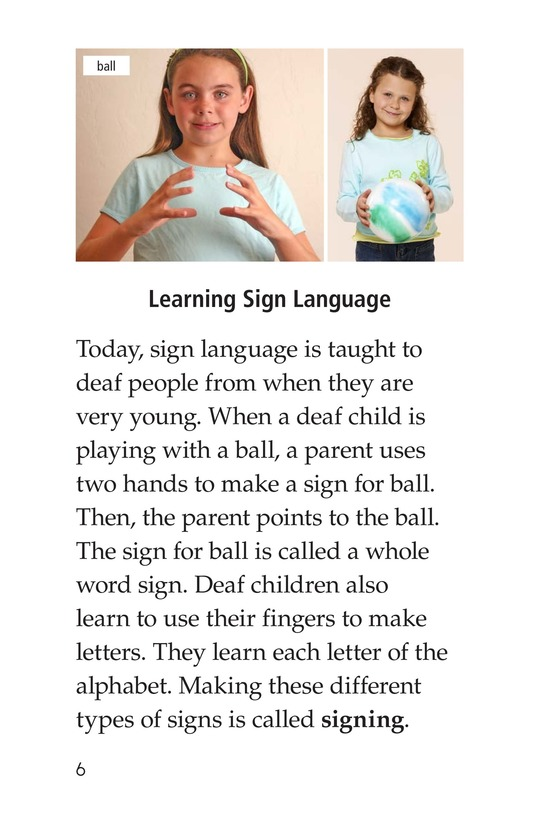 Book Preview For Sign Language and Hand Talk Page 6