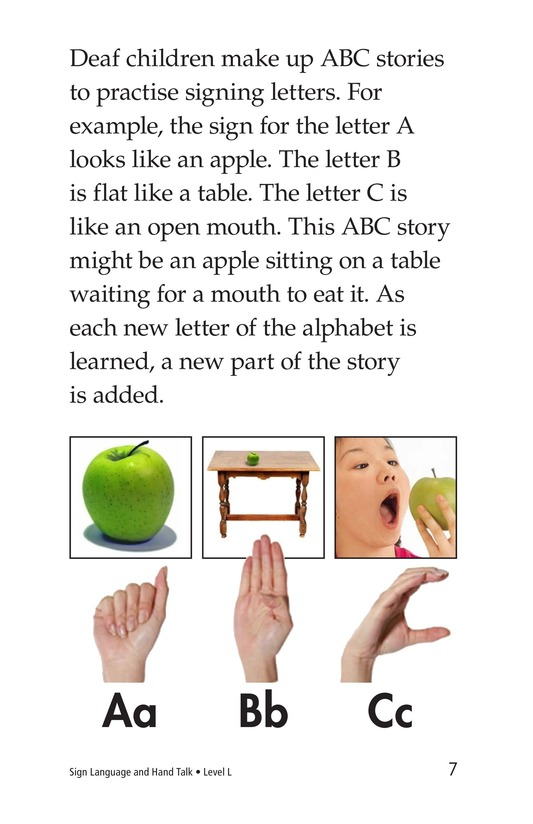 Book Preview For Sign Language and Hand Talk Page 7