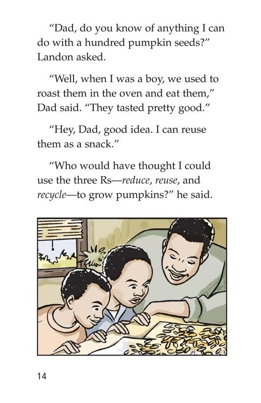 Book Preview For Landon's Pumpkins Page 14