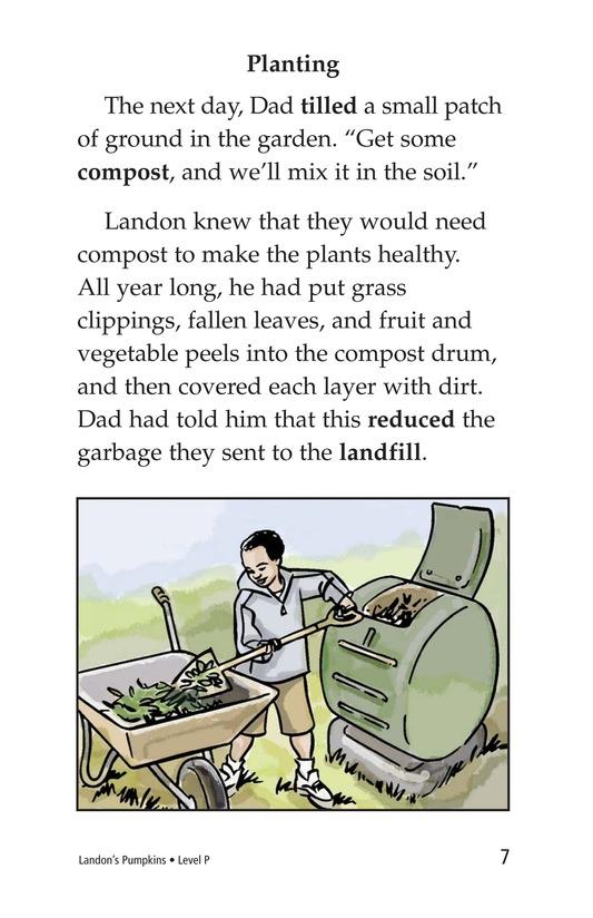 Book Preview For Landon's Pumpkins Page 7