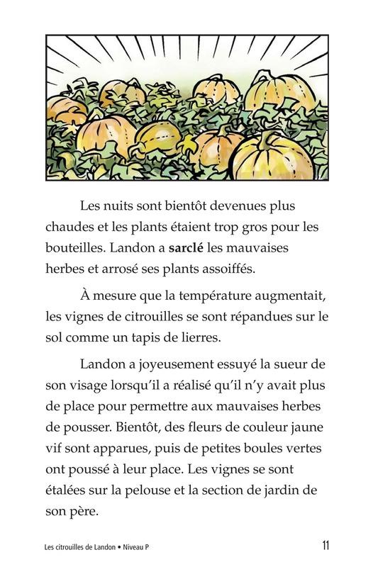 Book Preview For Landon's Pumpkins Page 11
