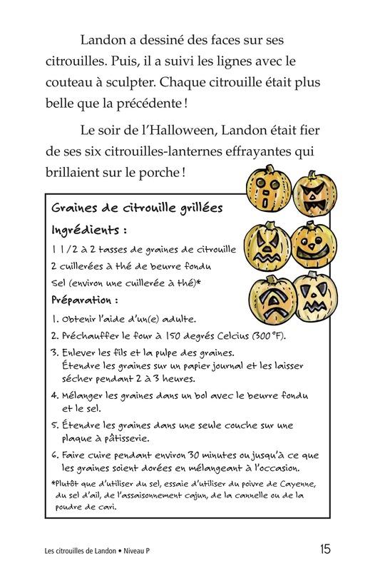 Book Preview For Landon's Pumpkins Page 15