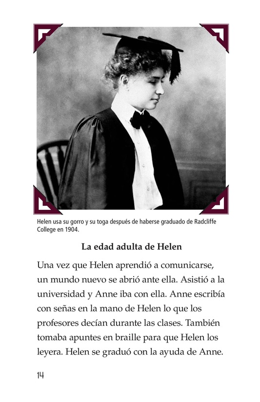 Book Preview For Helen Keller Page 14