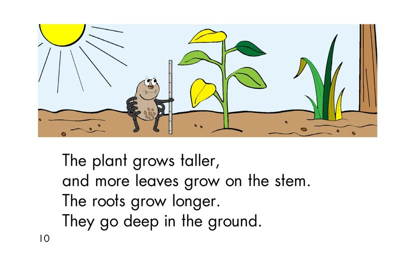 Book Preview For A Seed Grows Page 10