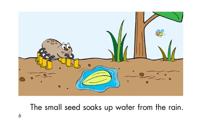 Book Preview For A Seed Grows Page 6