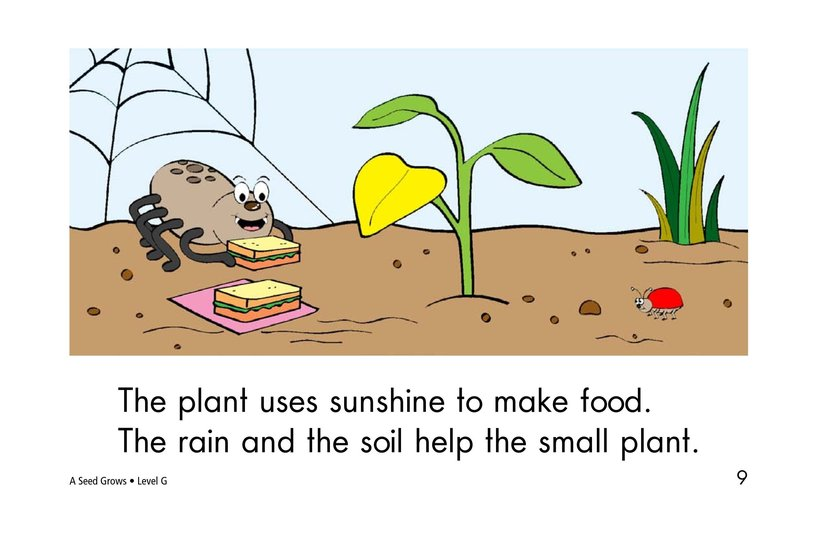 Book Preview For A Seed Grows Page 9