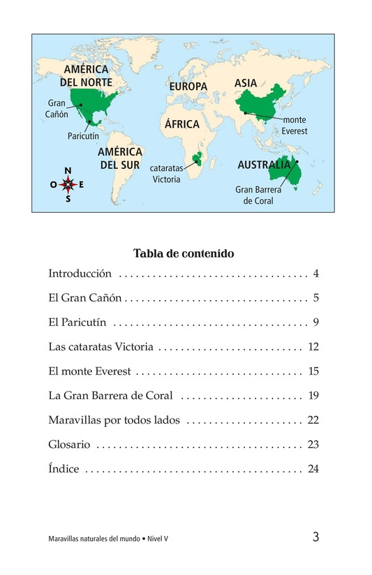 Book Preview For Natural Wonders of the World Page 3