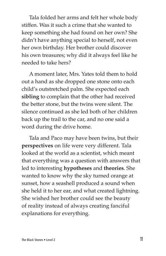 Book Preview For The Black Stones Page 11