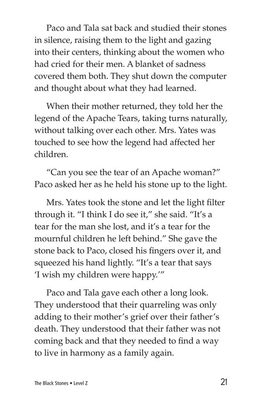 Book Preview For The Black Stones Page 21