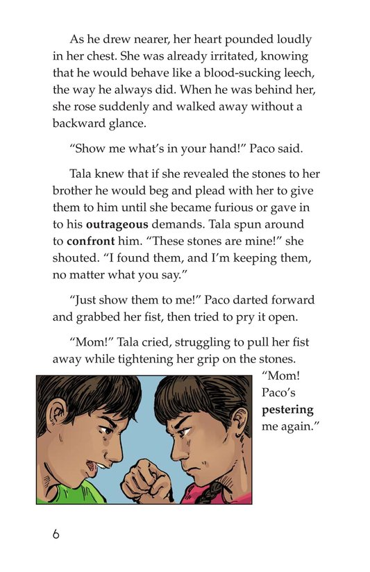 Book Preview For The Black Stones Page 6
