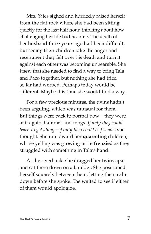 Book Preview For The Black Stones Page 7