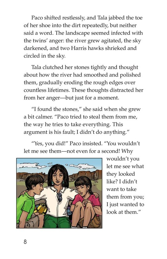 Book Preview For The Black Stones Page 8