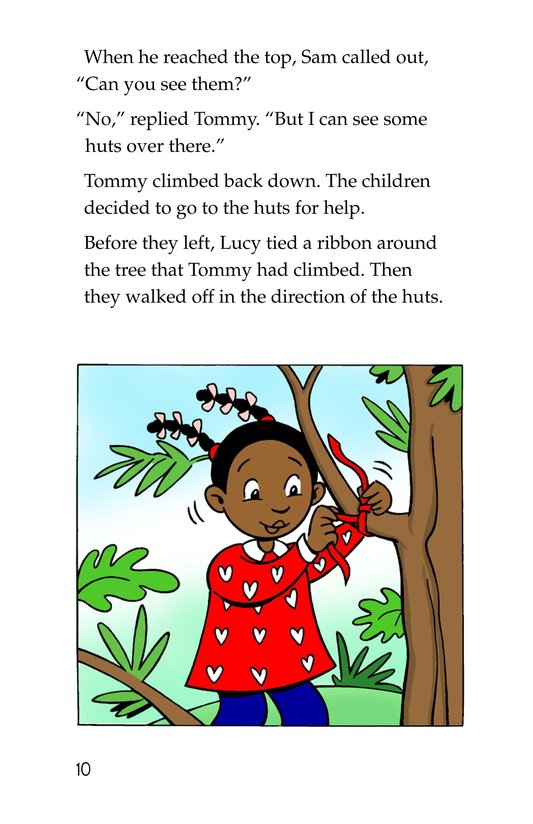 Book Preview For Tommy in the Jungle Page 10