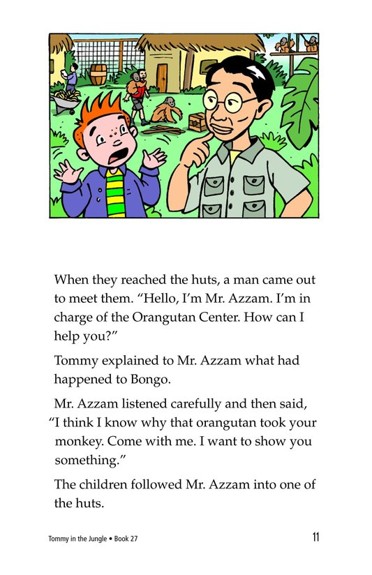 Book Preview For Tommy in the Jungle Page 11