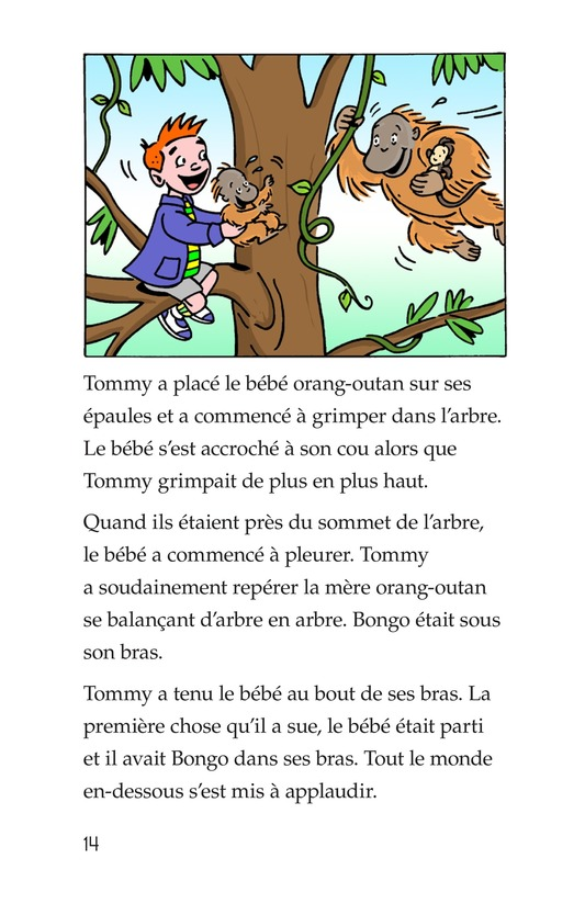 Book Preview For Tommy in the Jungle Page 14