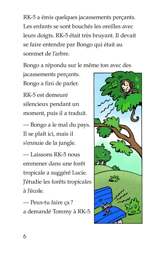 Book Preview For Tommy in the Jungle Page 6
