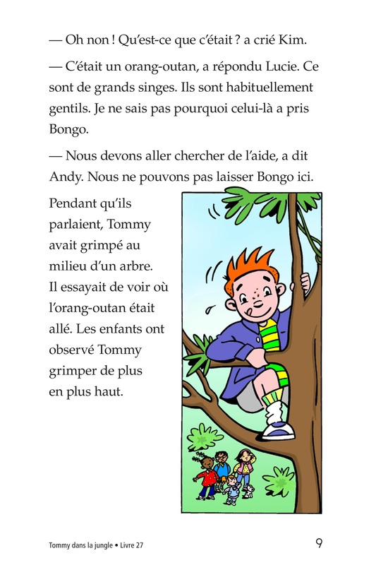 Book Preview For Tommy in the Jungle Page 9