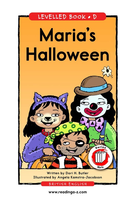 Book Preview For Maria's Halloween Page 1