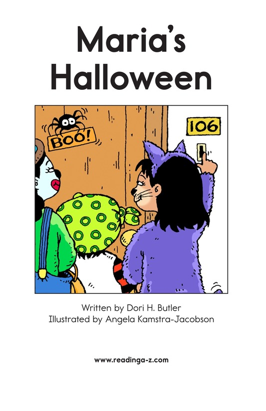 Book Preview For Maria's Halloween Page 2