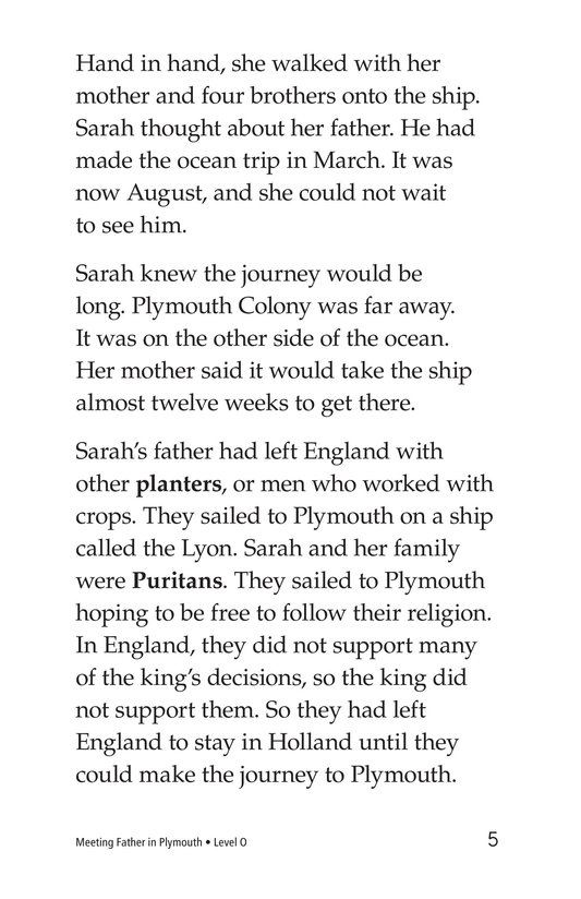 Book Preview For Meeting Father in Plymouth Page 5