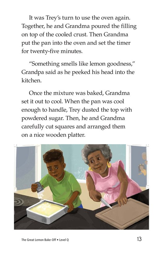 Book Preview For The Great Lemon Bake-Off Page 13