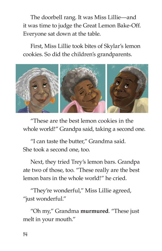 Book Preview For The Great Lemon Bake-Off Page 14