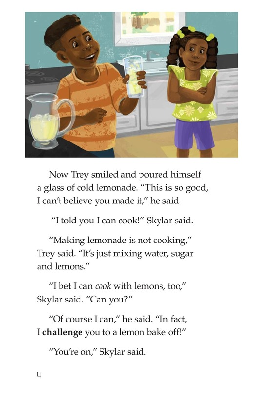 Book Preview For The Great Lemon Bake-Off Page 4