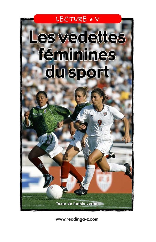 Book Preview For Female Sports Stars Page 1