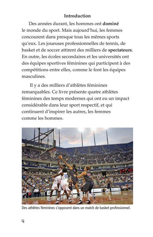 Book Preview For Female Sports Stars Page 4