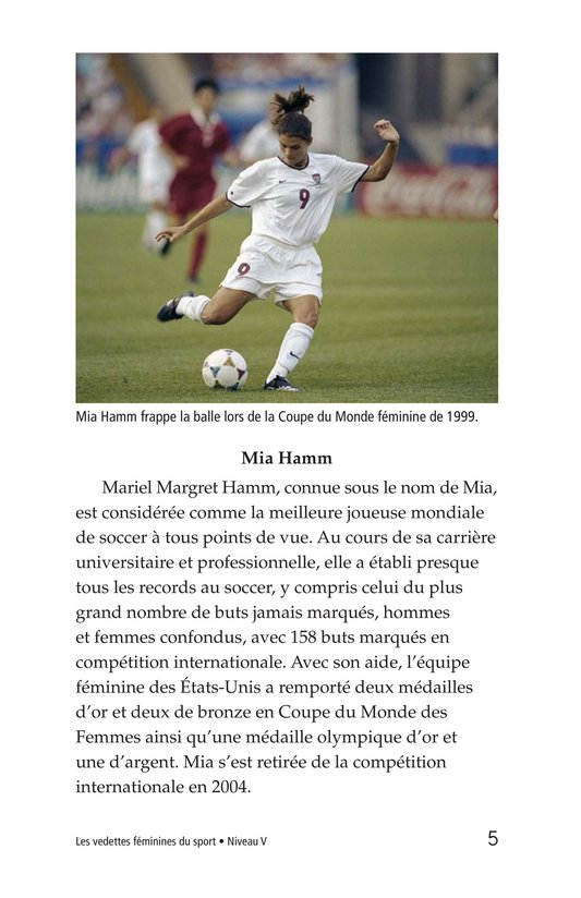 Book Preview For Female Sports Stars Page 5
