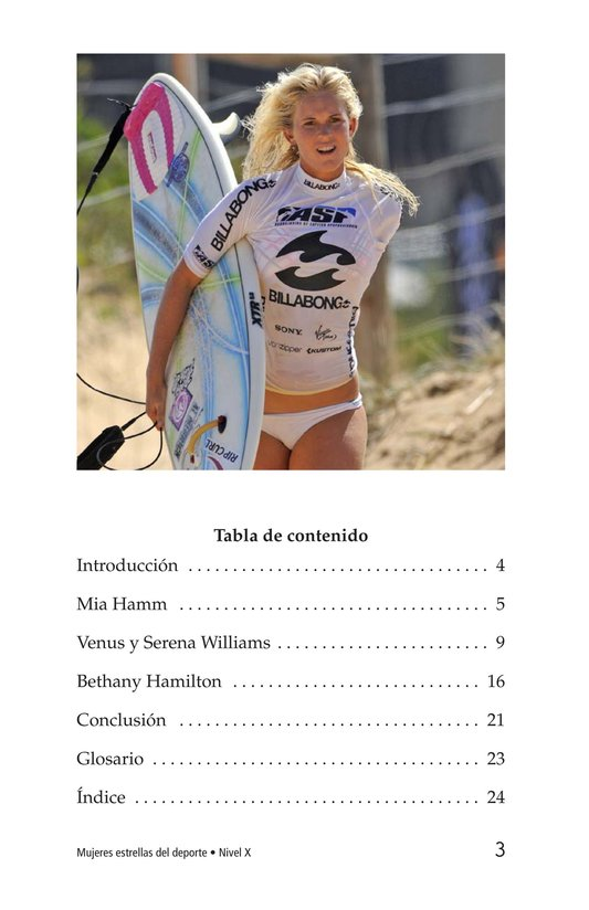 Book Preview For Female Sports Stars Page 3