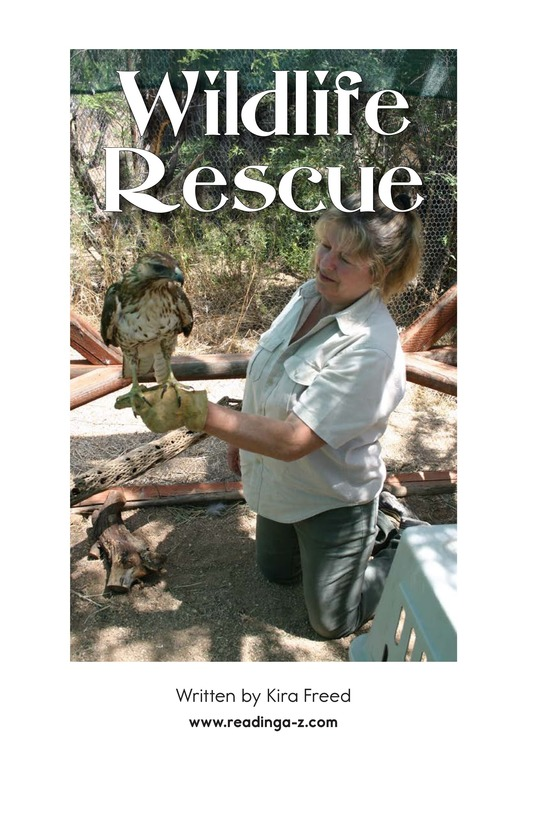 Book Preview For Wildlife Rescue Page 2