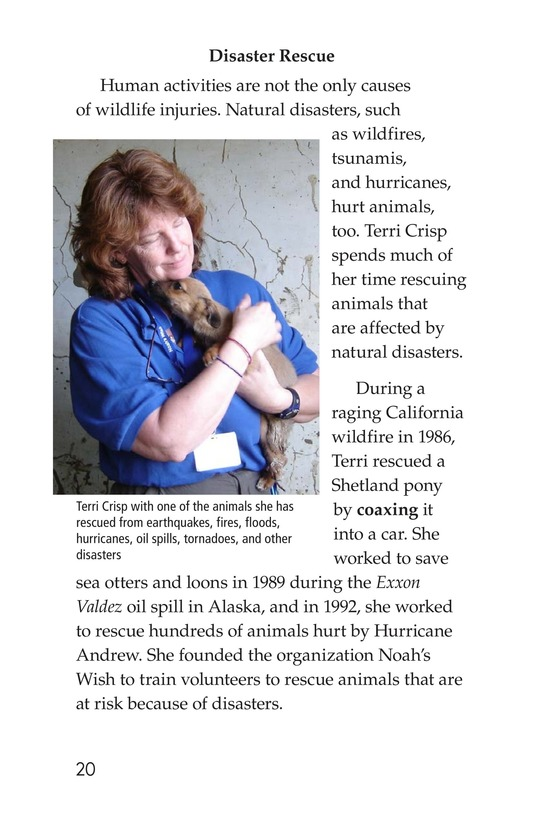 Book Preview For Wildlife Rescue Page 20