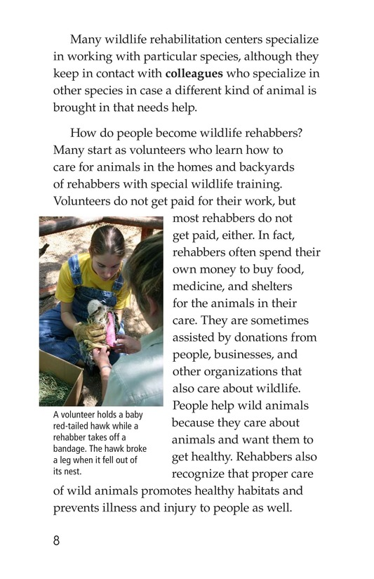 Book Preview For Wildlife Rescue Page 8
