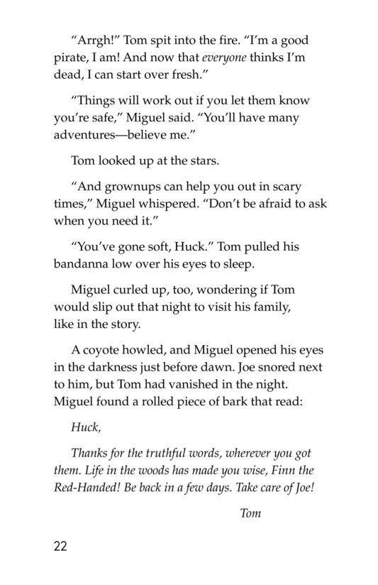 Book Preview For In Huck's Shoes Page 22