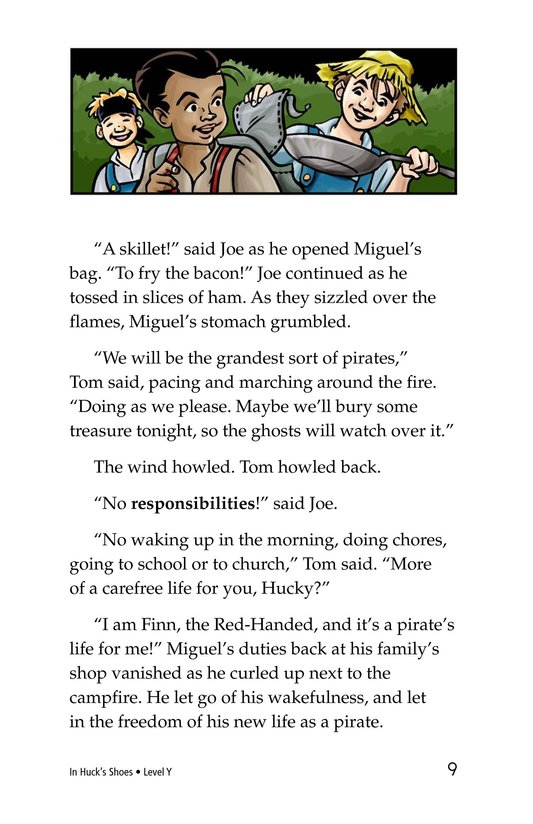 Book Preview For In Huck's Shoes Page 9