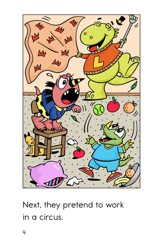 Book Preview For Monsters' Stormy Day Page 4