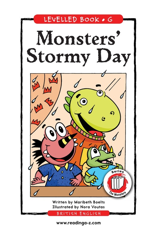 Book Preview For Monsters' Stormy Day Page 1
