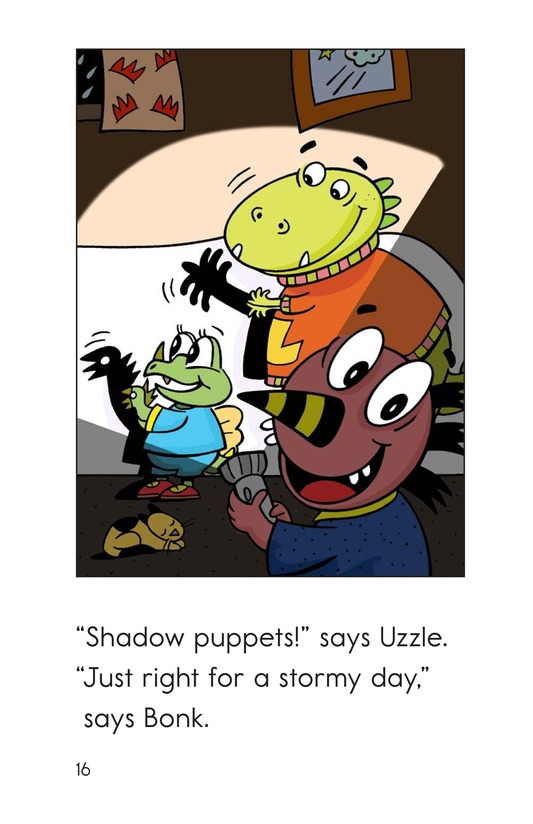 Book Preview For Monsters' Stormy Day Page 16