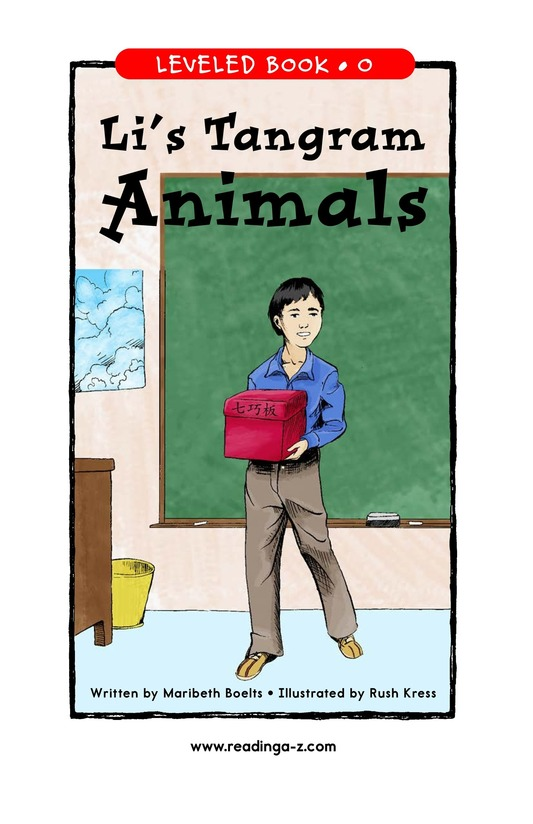 Book Preview For Li's Tangram Animals Page 1