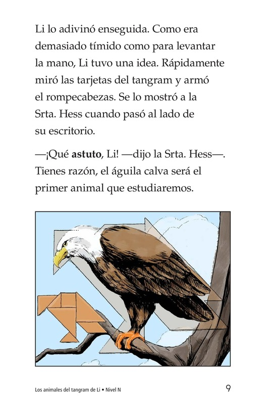 Book Preview For Li's Tangram Animals Page 9