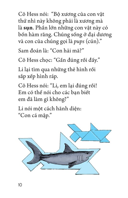 Book Preview For Li's Tangram Animals Page 10