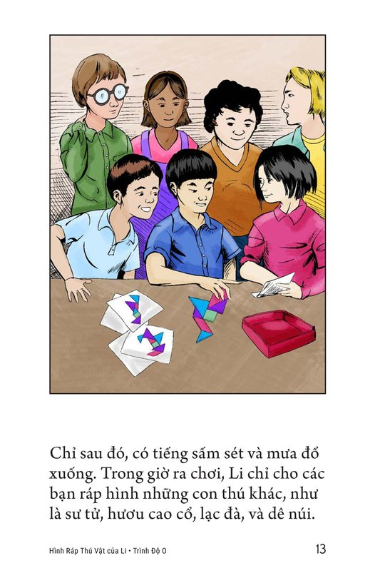 Book Preview For Li's Tangram Animals Page 13
