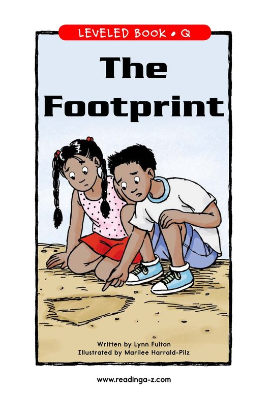 Book Preview For The Footprint Page 1