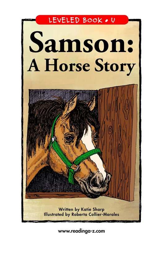 Book Preview For Samson: A Horse Story Page 1