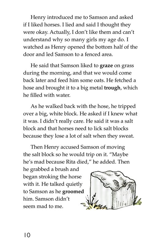 Book Preview For Samson: A Horse Story Page 10