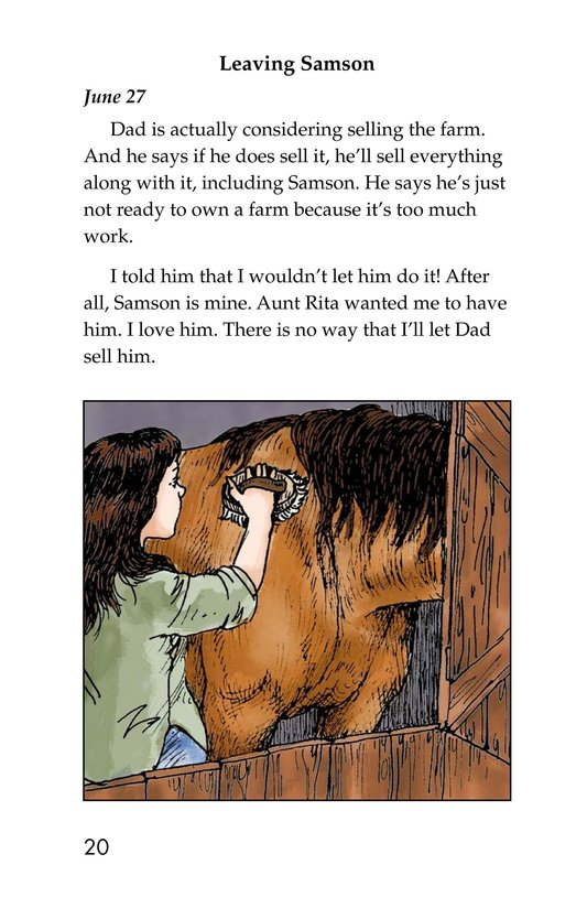 Book Preview For Samson: A Horse Story Page 20