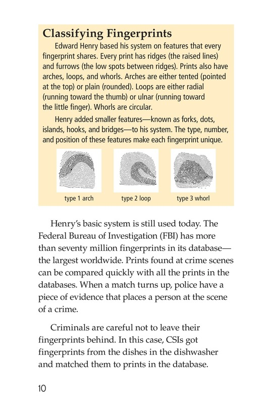 Book Preview For Seeing the Evidence: Forensic Scientists at Work Page 10