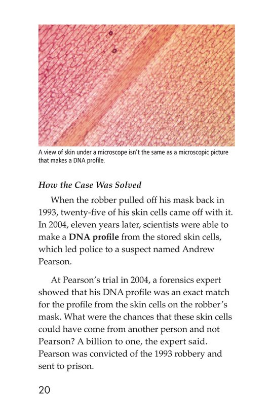 Book Preview For Seeing the Evidence: Forensic Scientists at Work Page 20